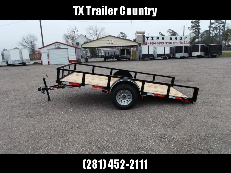 2022 Longhorn Trailers 12ft Tilt Side by Side Trailer / ATV Trailer / Utility Trailer