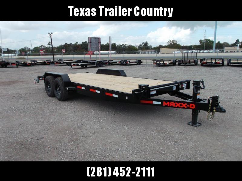 2021 Maxxd 83X20 14K C6X Car Hauler / Race Car Trailer / Flatbed Trailer / Equipment Trailer / Powder Coated / 7000# Axles / LEDs