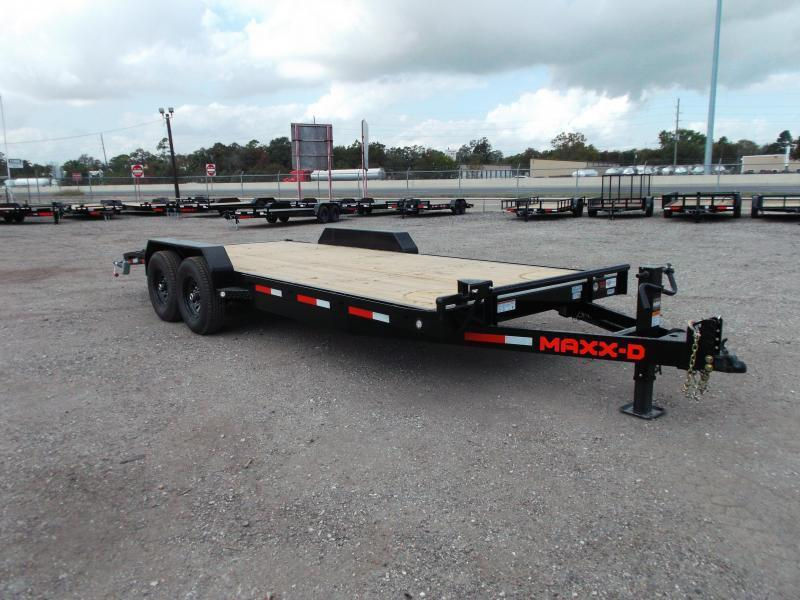 2021 Maxxd 83X20 14K C6X Car Hauler / Race Car Trailer / Flatbed Trailer / Equipment Trailer / Powder Coated / 7000# Axles / LEDs