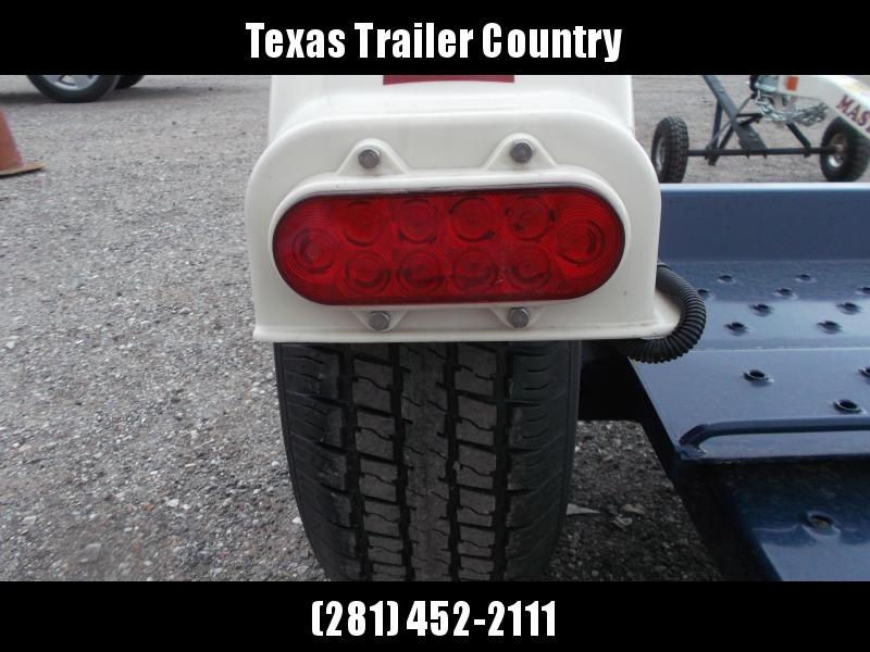 "2021 Master Tow 80"" THD Tow Dolly / Surge Brakes / Mag Wheels / Wheel Net Straps"
