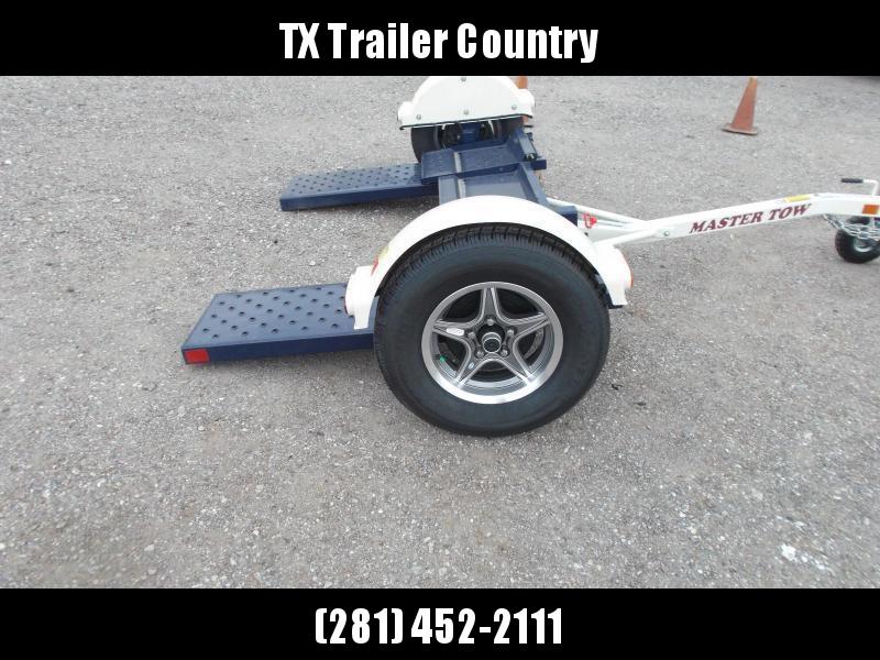 "2022 Master Tow 80"" THD Tow Dolly / Surge Brakes / Mag Wheels / Wheel Net Straps"