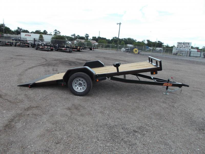 2020 Maxxd Trailers G3X 83x14 Gravity Tilt Side by Side Trailer / ATV Trailer / Powder Coated / Clear LEDs
