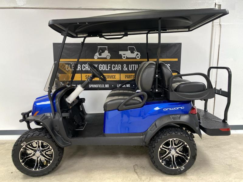 2020 Club Car Onward 4 Passenger Lifted GAS
