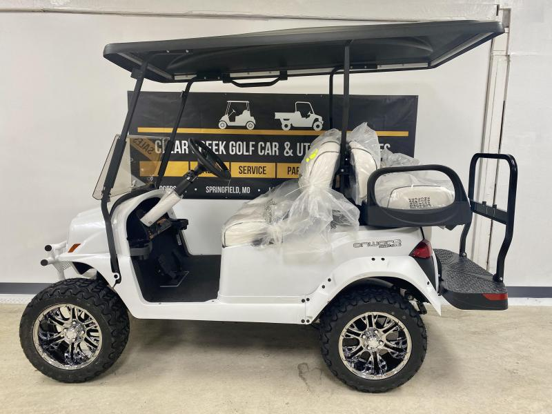 LIMITED EDITON SNOWSTORM 2020 Club Car Onward 4 Passenger Lifted GAS