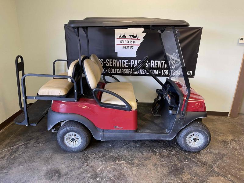 2018 Club Car Tempo Gas 4P Golf Cart