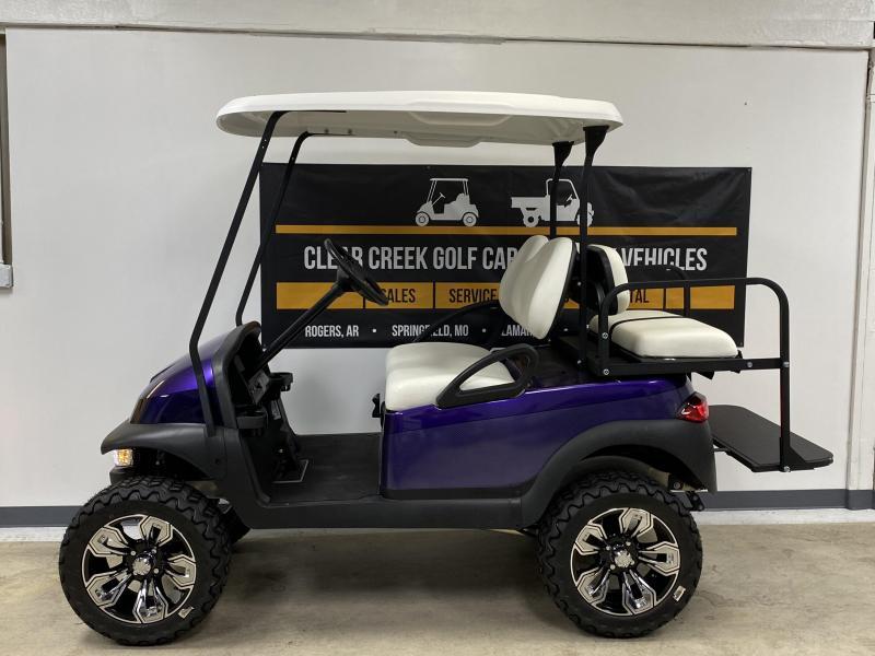 2017 Club Car Club Car Precedent 4 Passenger Lifted Gas Golf Cart