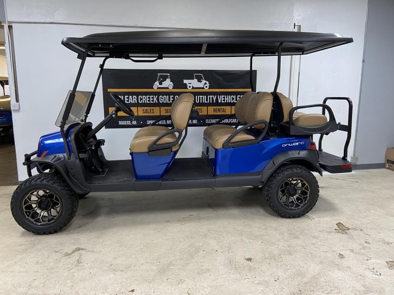 2021 Club Car Onwards 6 Passenger Gas Golf Cart