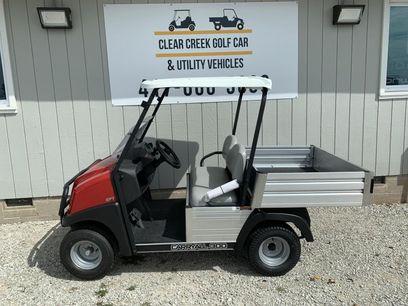 2021 Club Car Carryall 300 Gas Utility