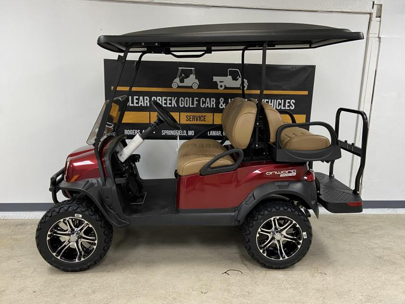 2020 Club Car Onward Lifted 4 Passenger Golf Cart