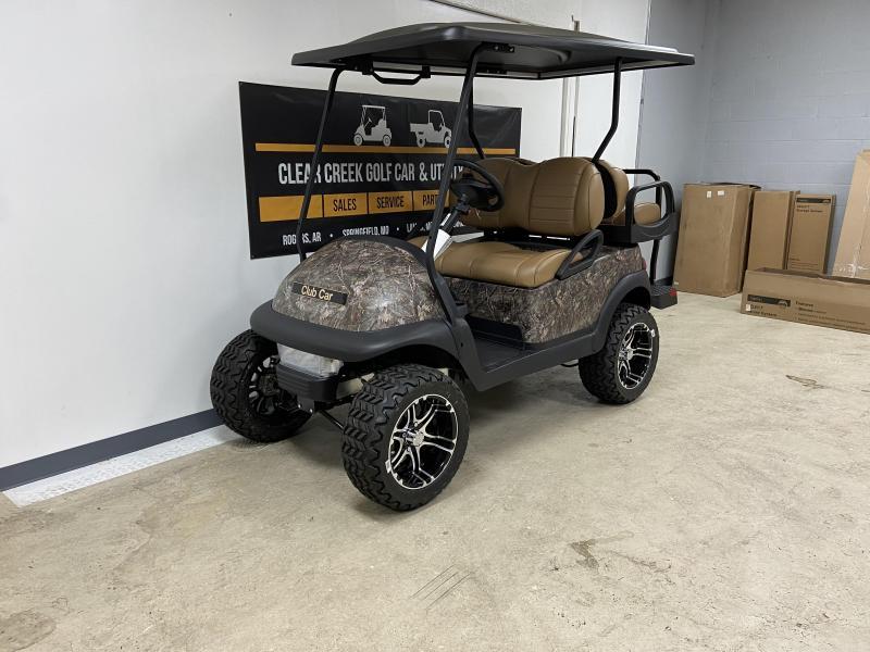 2021 Club Car Precedent Villager 4 Passenger Gas Golf Cart