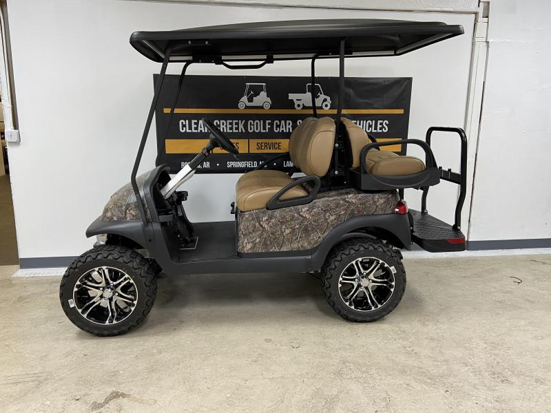2021 Club Car Precedent Villager 4 Passenger Gas Golf Cart