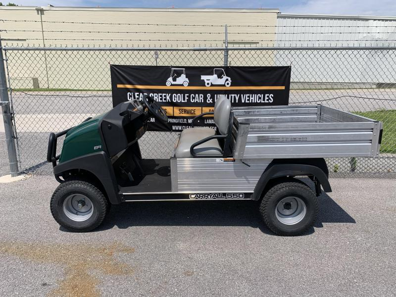 2015 Club Car Carryall 550 Gas Golf Cart