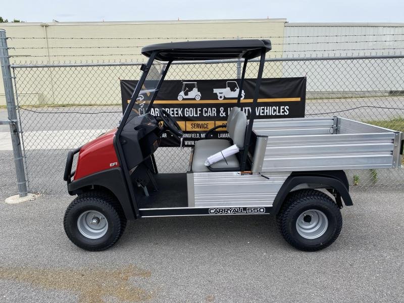 2021 Club Car Carryall 550 Gas Golf Cart