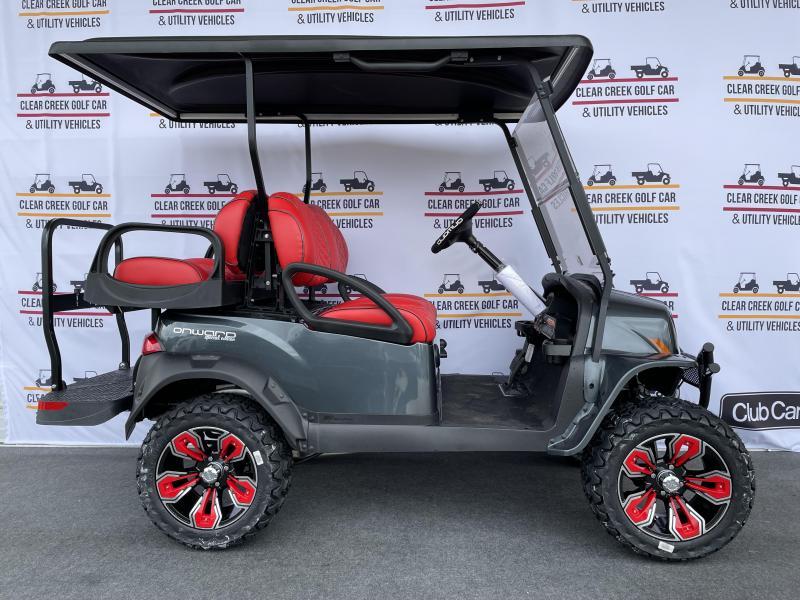 2022 Club Car Special Edition Onward Road Runner Gas Golf Cart