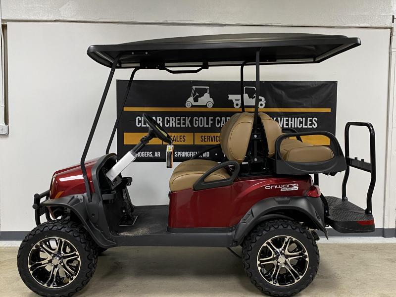 2021 Club Car Onward 4 passenger Lithium Golf Cart