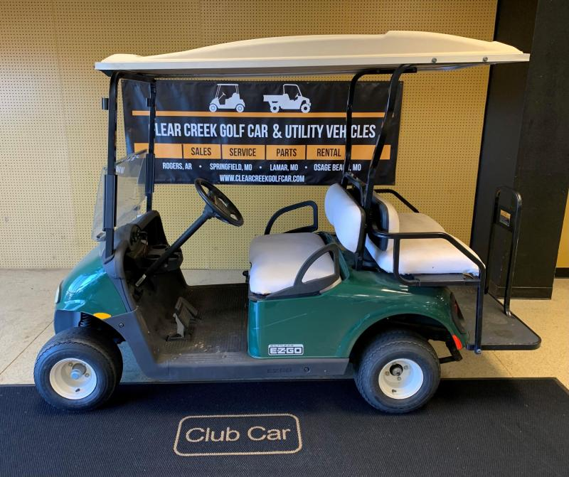2010 E-Z-GO Shuttle 2+2 Golf Cart