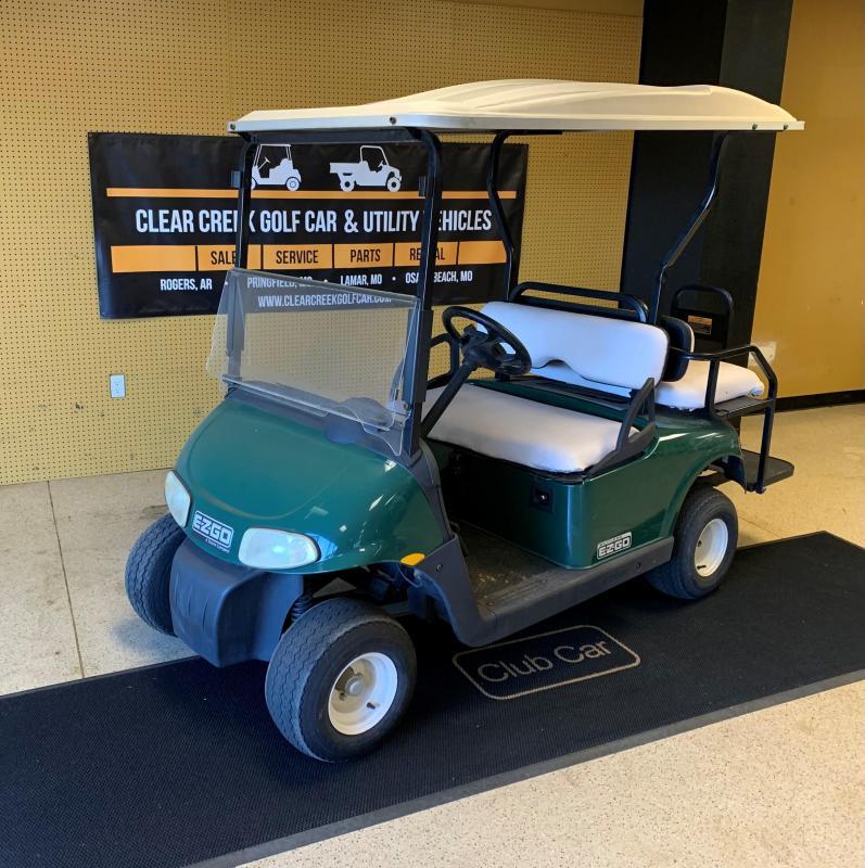 2010 E-Z-GO Shuttle 2+2 Golf Cart