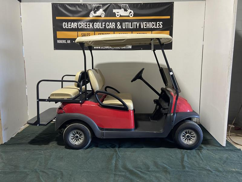 2018 Club Car Precedent Electric 4 Passenger Golf Cart