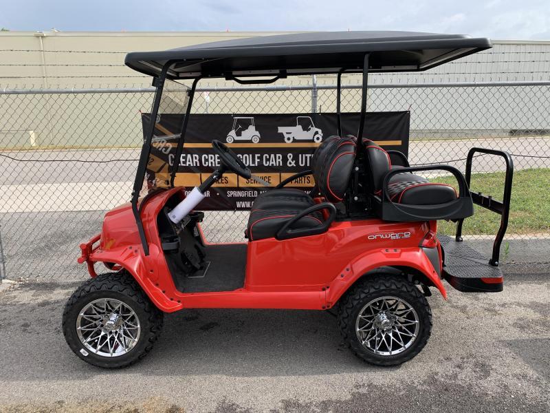 2020 Club Car Onward Blazing Comeback Golf Cart
