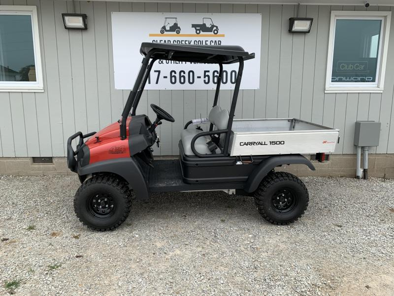 2021 Club Car Carryall 1500 4x4 Gas Utility