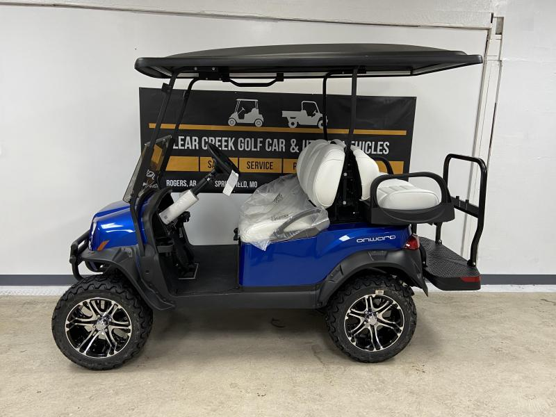 2020 Club Car Onward Lifted 4 Passenger Gas Golf Cart