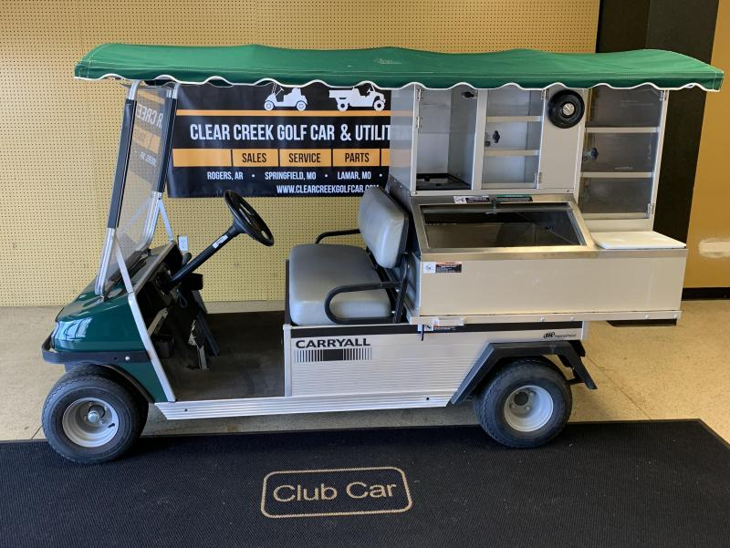 2013 Club Car Cafe Express Golf Cart