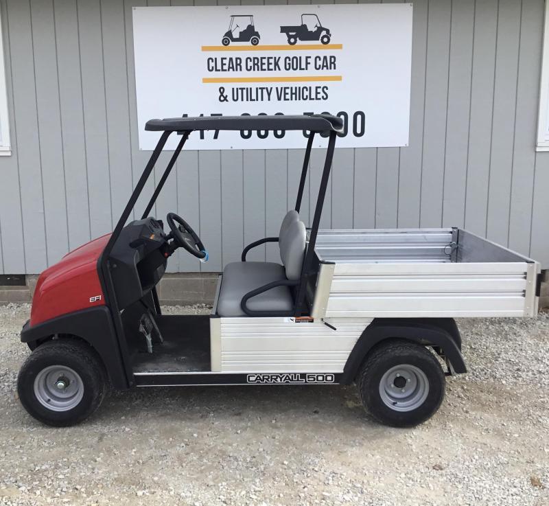 2019 Club Car Carryall Gas Golf Cart