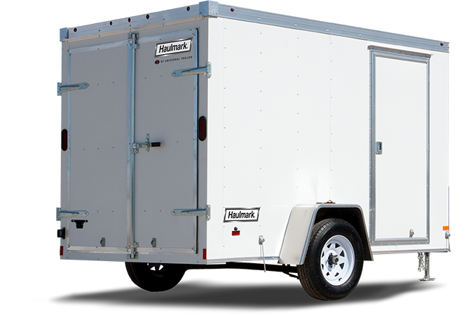 2018 Haulmark TSTV6X10DT2 Enclosed Cargo Trailer