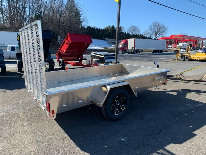 2021 Belmont 6x10 Aluminum Solid Side
