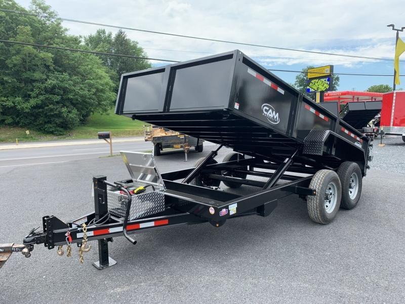 2021 Cam Superline 7x14 Dump Trailer 14k