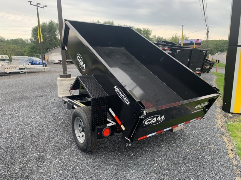 2021 Cam Superline 5x8 Dump Trailer