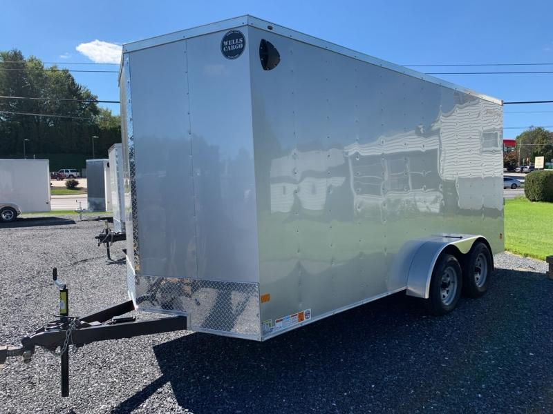 2022 Wells Cargo 7x16 Fast Trac Deluxe Enclosed