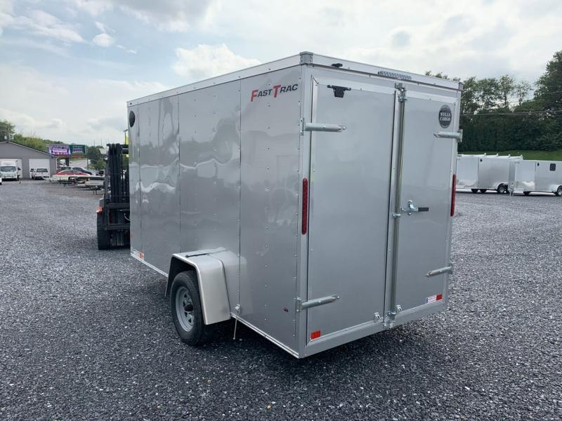 2022 Wells Cargo 6x12 Fast Trac Deluxe Enclosed