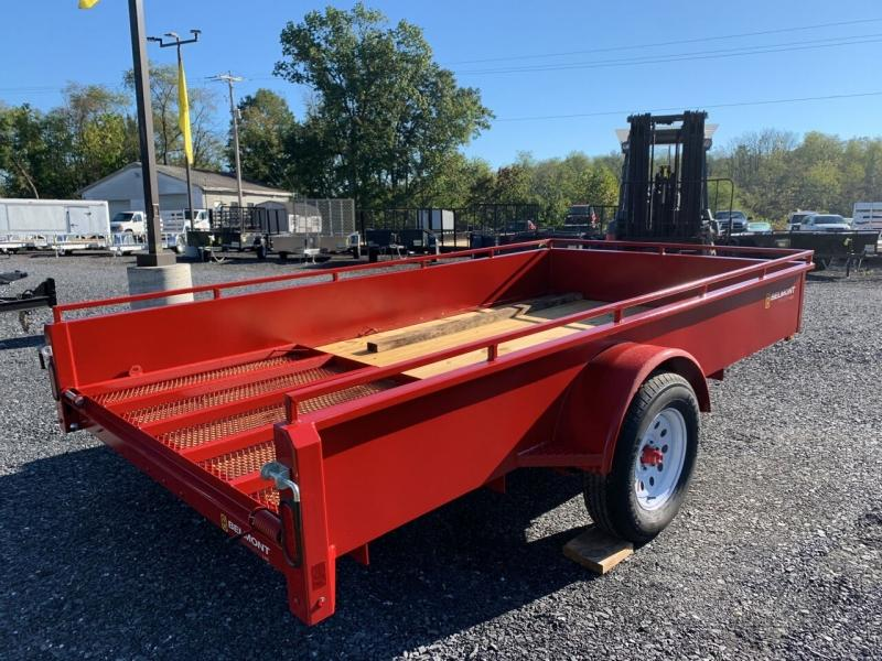 2022 Belmont 6x12 Solid Side Utility