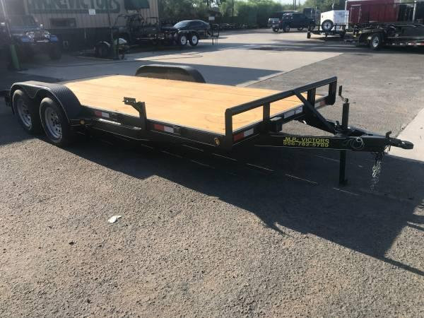 2020 Mr Victors 83 x 18 Car / Racing Trailer