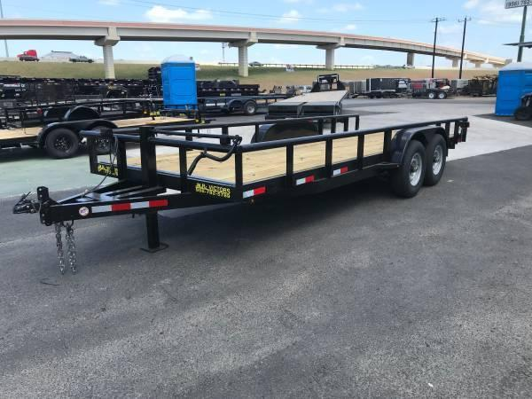 2020 MR VICTORS 83 X 20 HEAVY DUTY UTILITY TRAILER