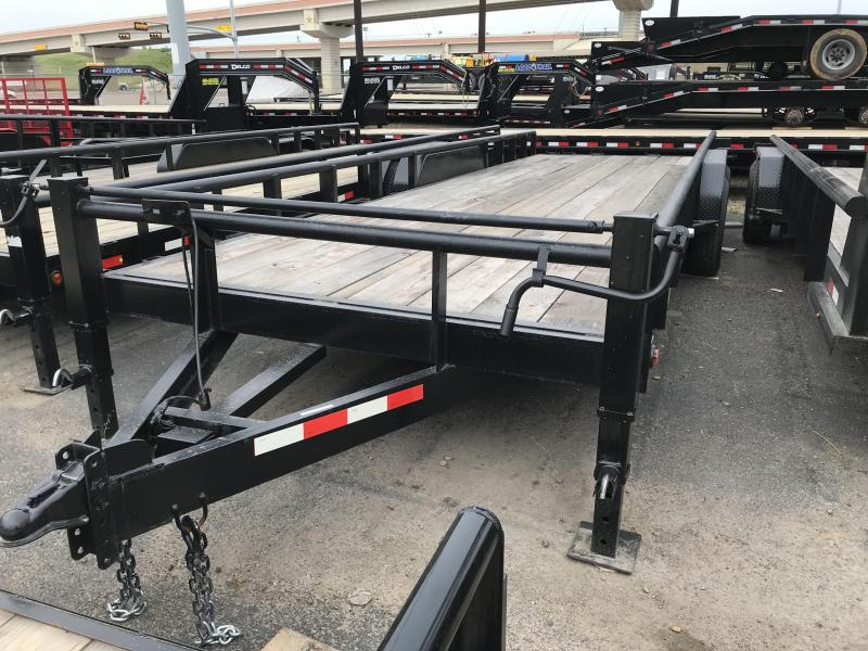 2020 MR VICTORS 83X24 HEAVY DUTY TRAILER