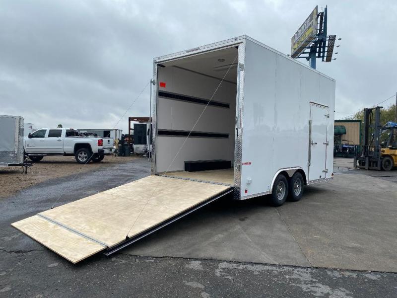 2021 Cargo Mate 8.5' X 16' Enclosed Cargo Trailer