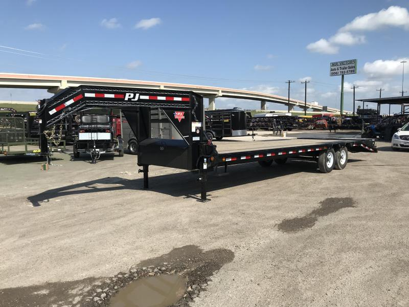 2021 PJ Trailers 102 X 32 Equipment Trailer
