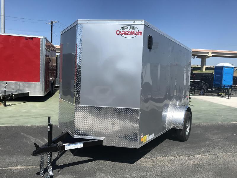 2021 Cargo Mate 6 x 10 Enclosed Cargo Trailer