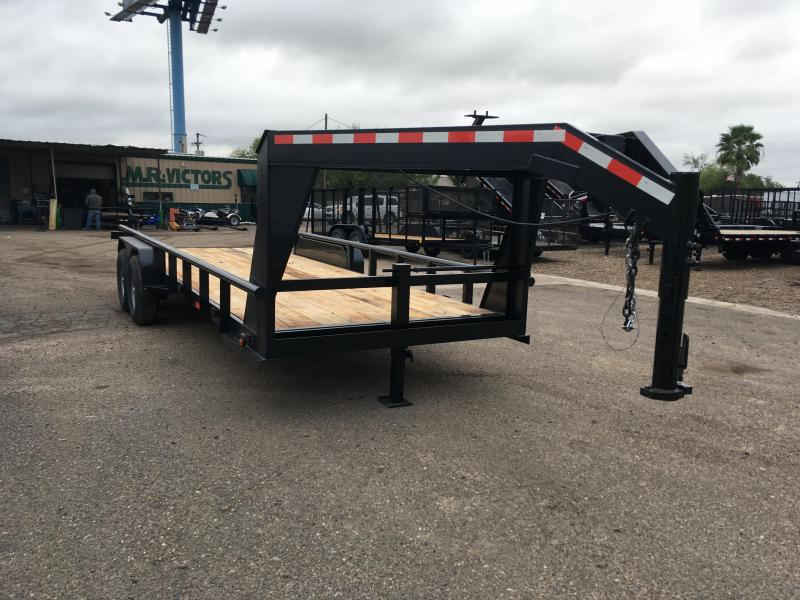 2020 MR VICTORS 83X20 GN HEAVY DUTY TRAILER