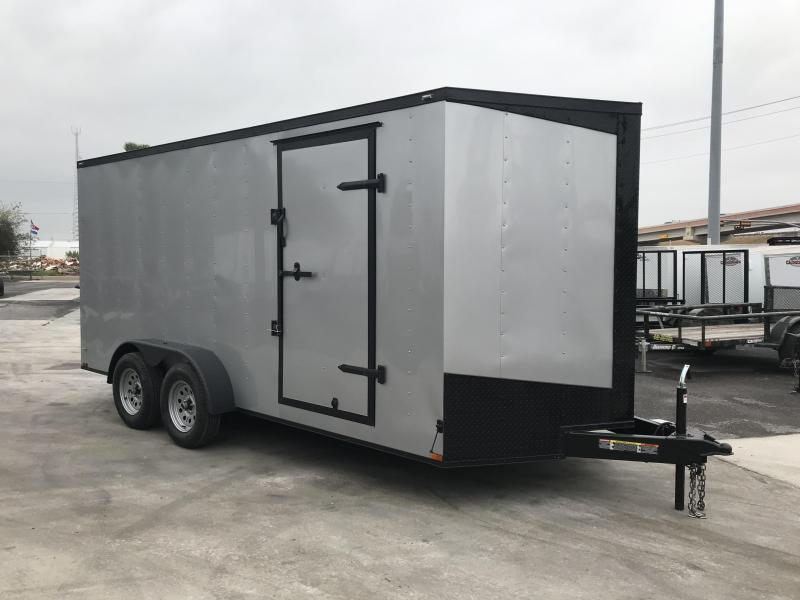 2021 Lark 7 X 16 Enclosed Cargo Trailer