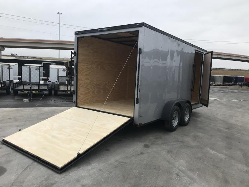 2021 Lark 7 X 16 Enclosed Cargo Trailer