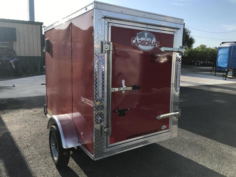 2021 Cargo Mate 4 x 6 Enclosed Cargo Trailer