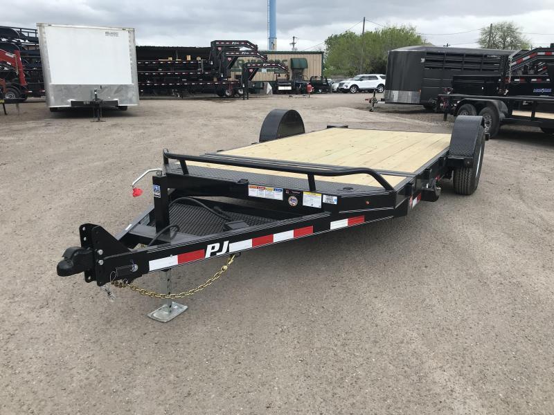 2020 PJ Trailers  16' Single Axle HD Tilt