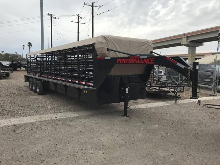 2020 Performance Trailers 80 X 32 Livestock Trailer