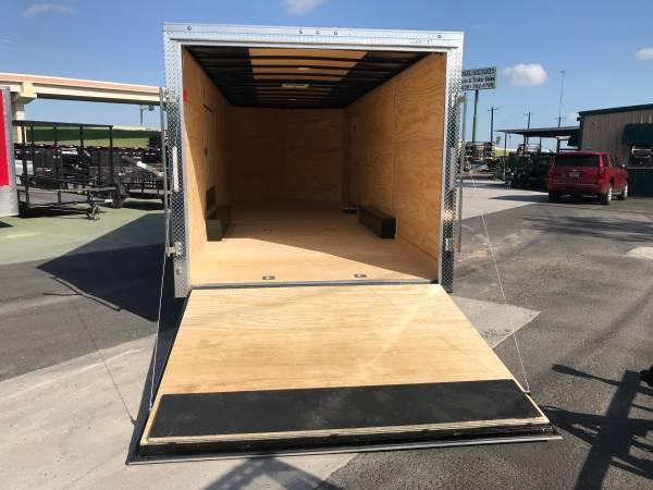2020 Cargo Mate 8.5 x 24 Enclosed Cargo Trailer