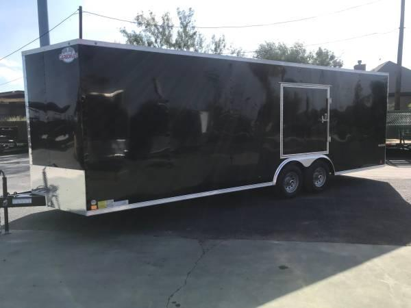 2020 Cargo Mate 8.5 x 24 Enclosed Cargo Trailer