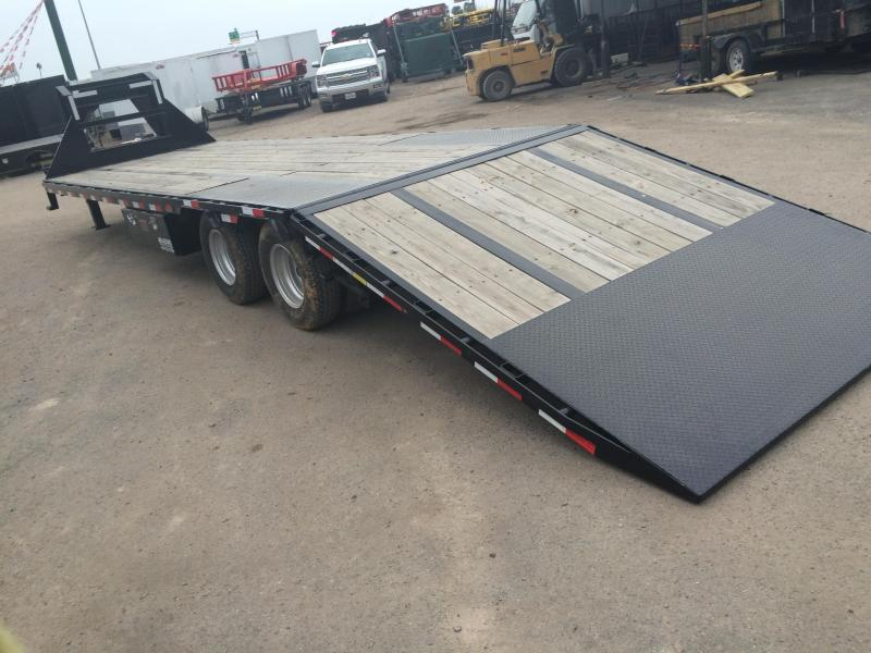 2020 Load Max Low Pro Gooseneck Hydraulic Dove Tail