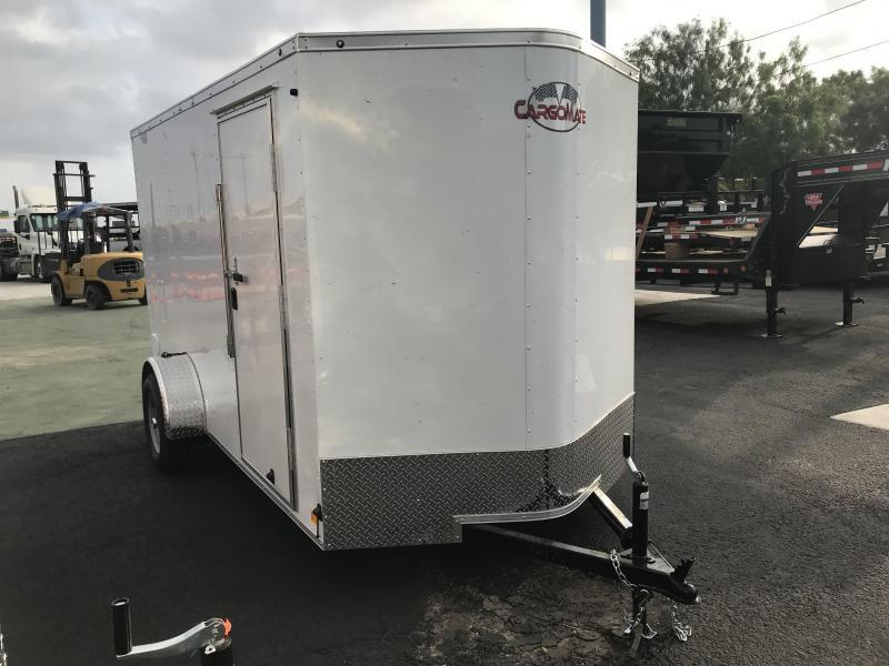 2020 Cargo Mate 6 x 12 Enclosed Cargo Trailer